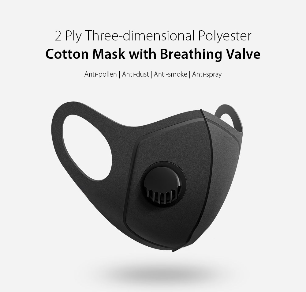 SYJF 136 2 Ply Polyester Cotton Adult Mask