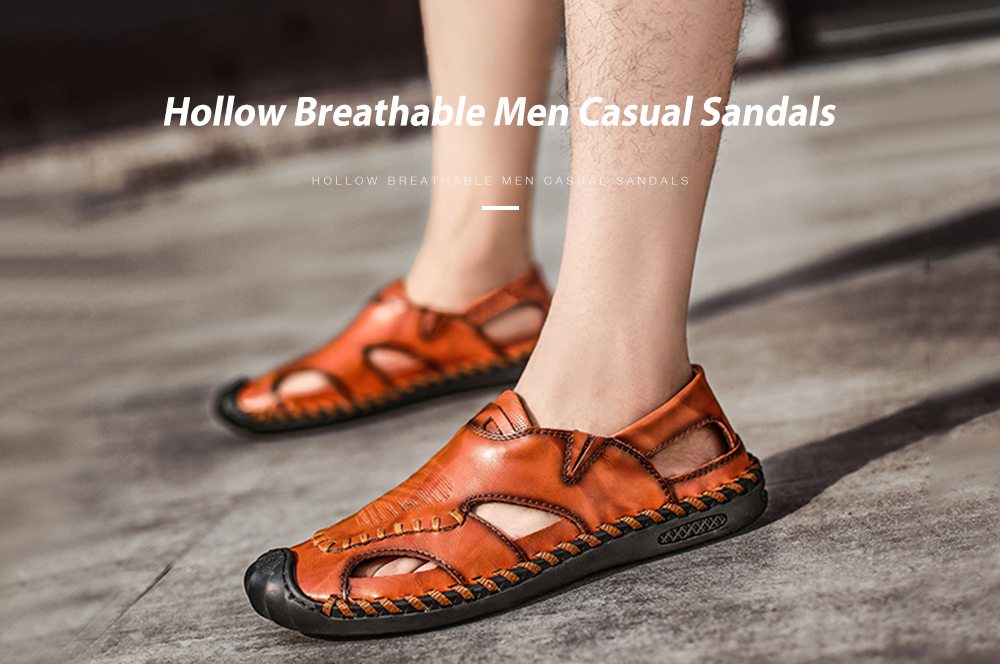 IZZUMI Hollow Breathable Men Casual Sandals