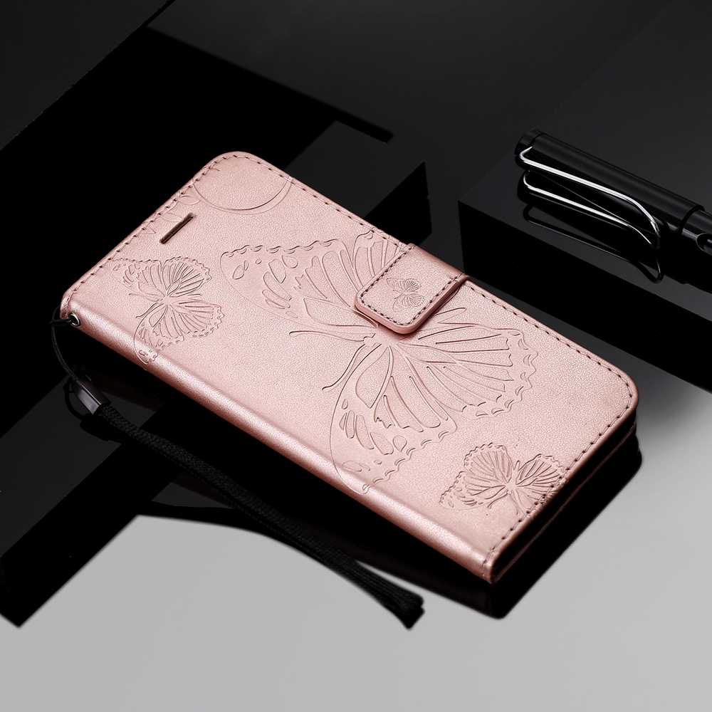 Butterfly Embossing Phone Case for One Plus 8 Pro - Orange