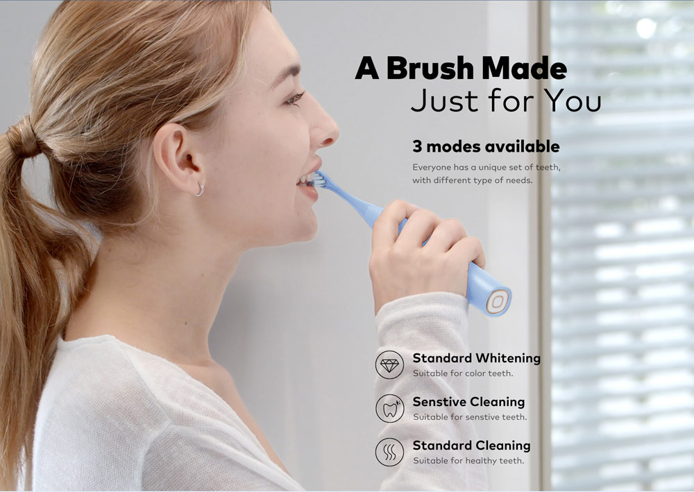 Oclean F1 Sonic Electric Toothbrush A Brush Made Just for You, 3 Modes Available
