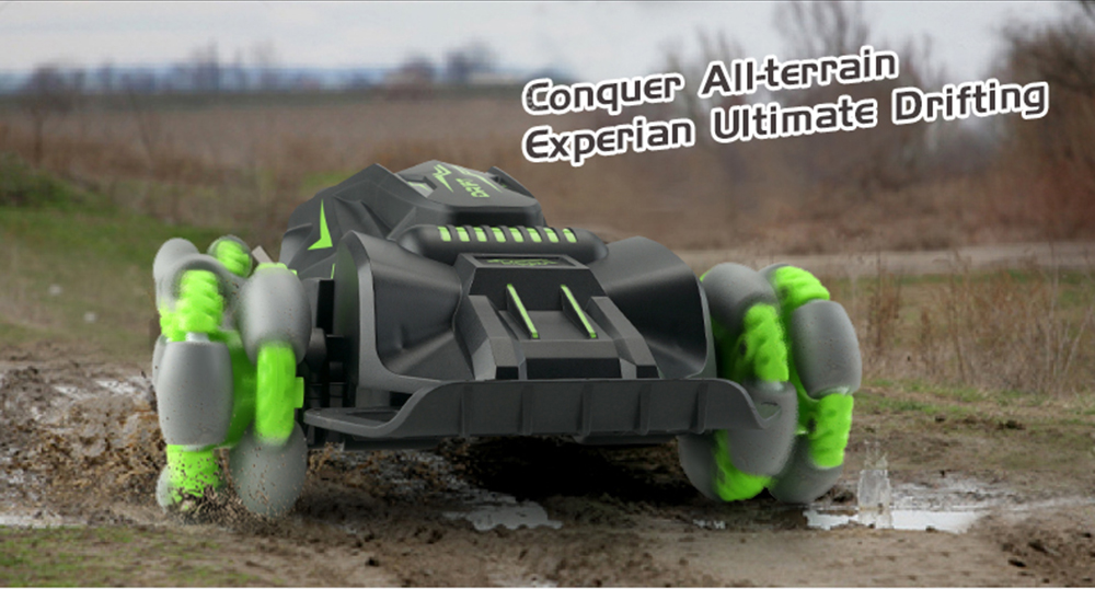 JJRC Q80 2.4G Stunt Drift RC Car Indoor Outdoor Toys Vehicle Models - Green