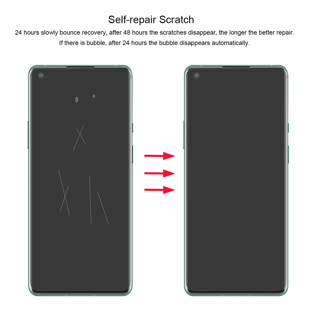 ENKAY Soft 3D Screen Protector for OnePlus 8 / 8 Pro - Transparent OnePlus 8 Pro