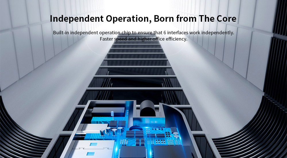 Baseus Corner No. 7 Multifunction Type-C Hub Independent Operation, Born from The Core