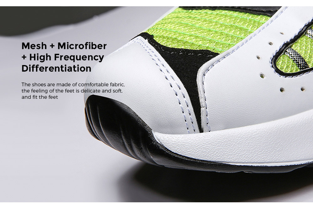 AILADUN Men Shoes Mesh + Microfiber + High Frequency Differentiation