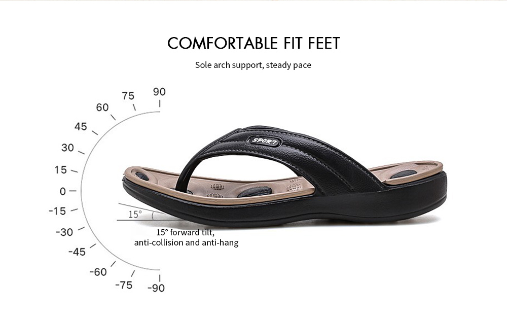 AILADUN Men Slipper Comfortable Fit Feet