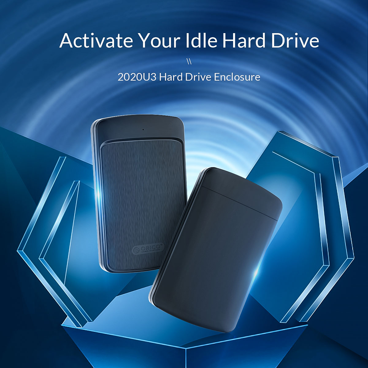 ORICO 2020U3 2.5-inch Hard Drive HDD Enclosure