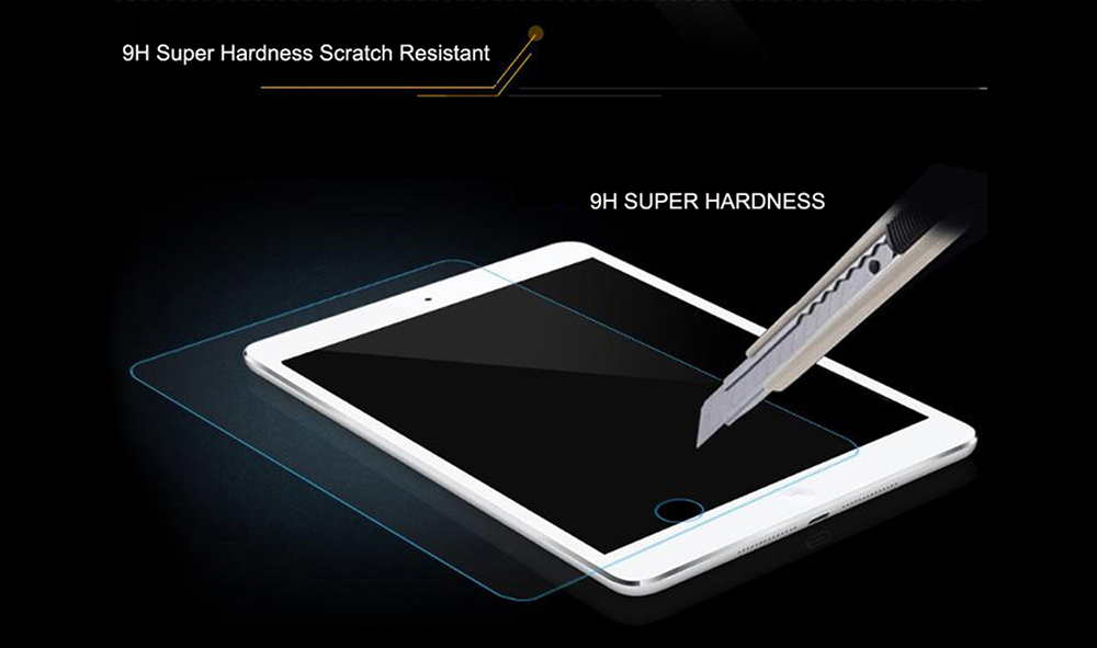 ASLING 0.26mm 7.9 inch 9H Tablet Tempered Glass Film Screen Protector for iPad Mini 4 / 5 / 1 / 2 / 3 - Transparent for iPad Mini 1 / 2 / 3