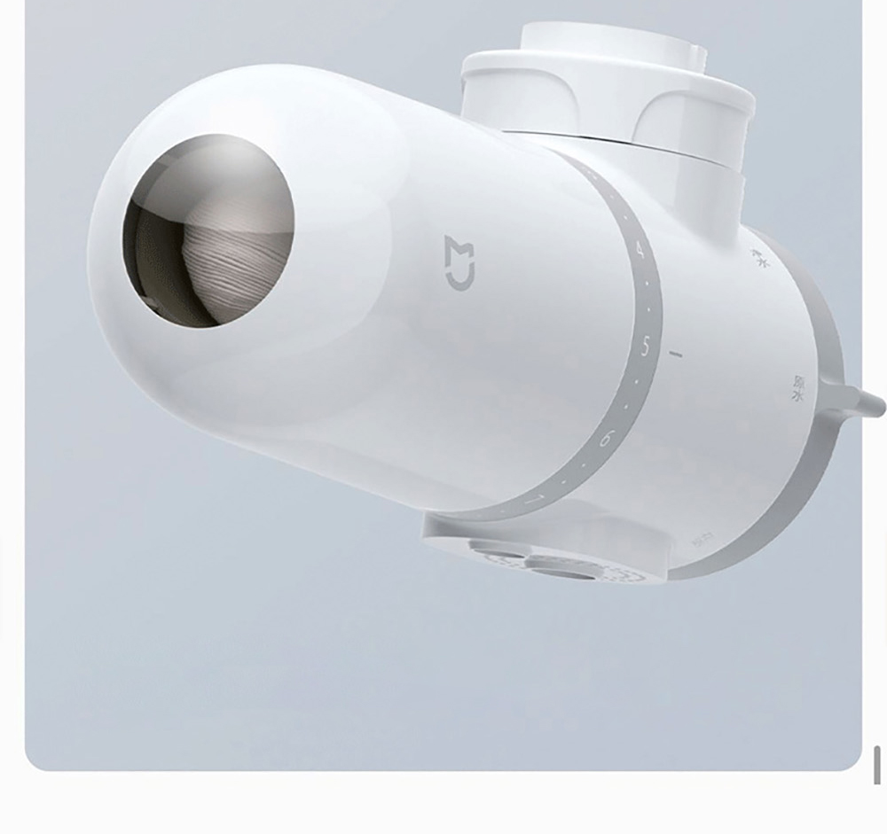 Xiaomi Mijia MUL11 Faucet Water Purifier Transparent Filter Observation Window, Promptly Remind to Replace The Filter