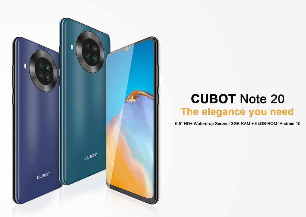 CUBOT NOTE 20 4G Smartphone - Green