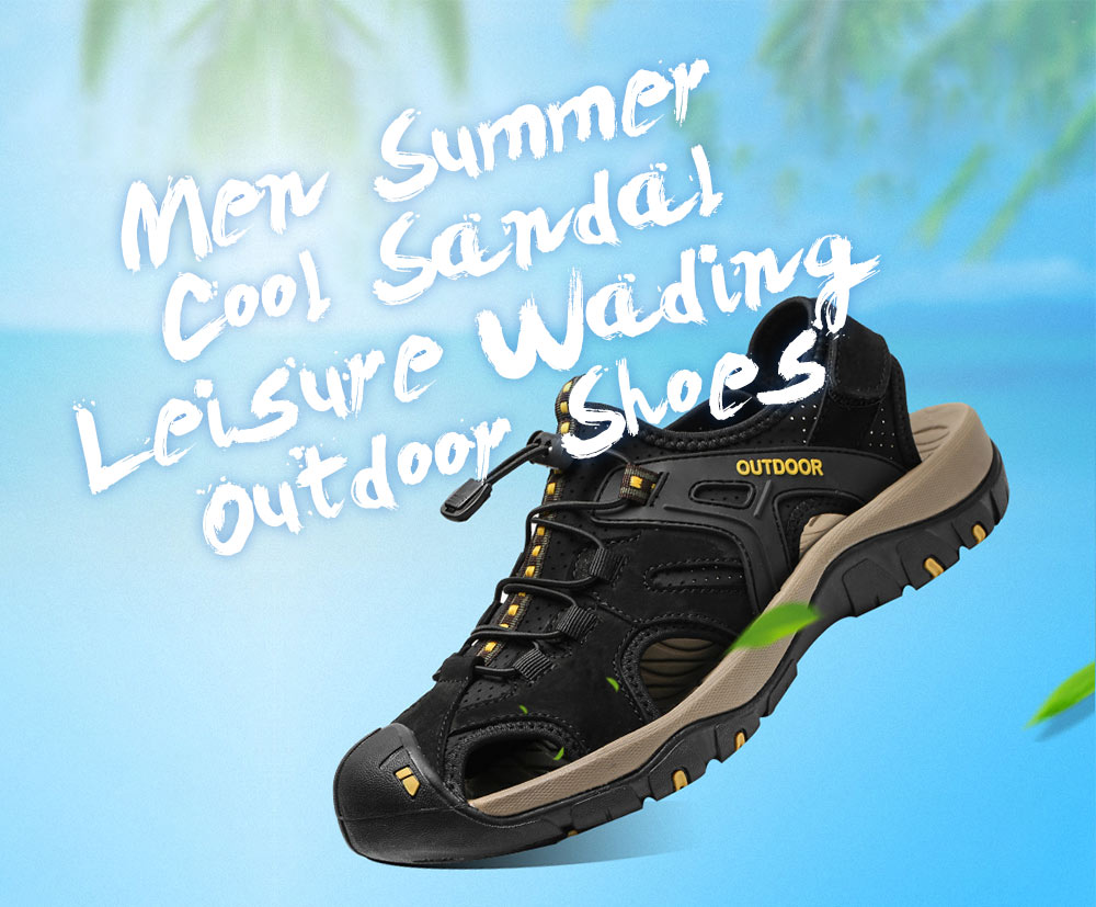 AILADUN Men Summer Sandal