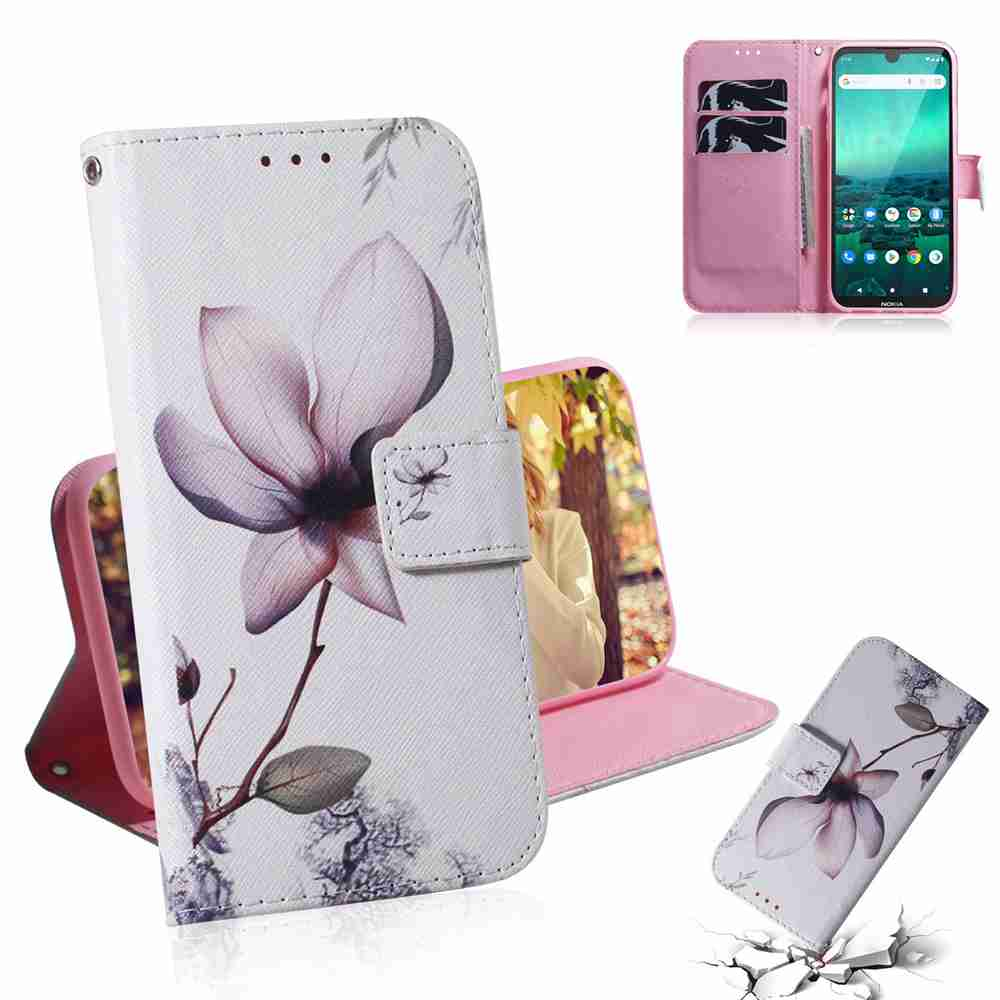 Multi-Pattern Painted Phone Case for  Nokia 1.3 - Multi-A
