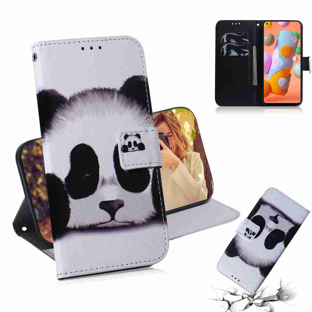 Multi-Pattern Painted Phone Case for Samsung Galaxy A11/ M11 - Multi-J