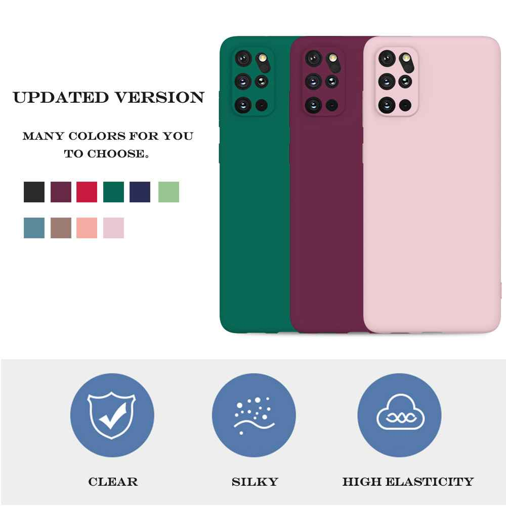 Matte TPU Solid Color Phone Case for Samsung Galaxy S20 Plus - Pink