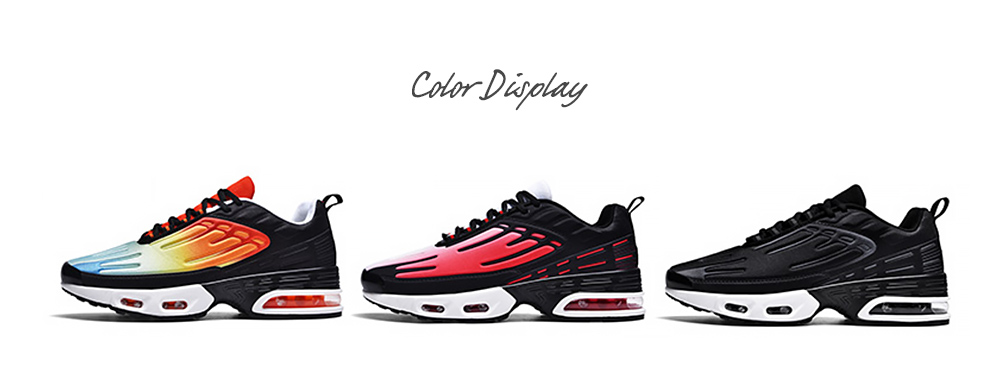 AILADUN Men Retro Casual Lace Up Sports Running Shoes color displsy