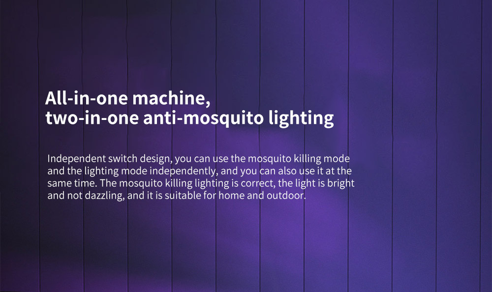 Y8RK Portable Physical Shock Insect Killers All-in-one machine, two-in-one anti-mosquito lighting