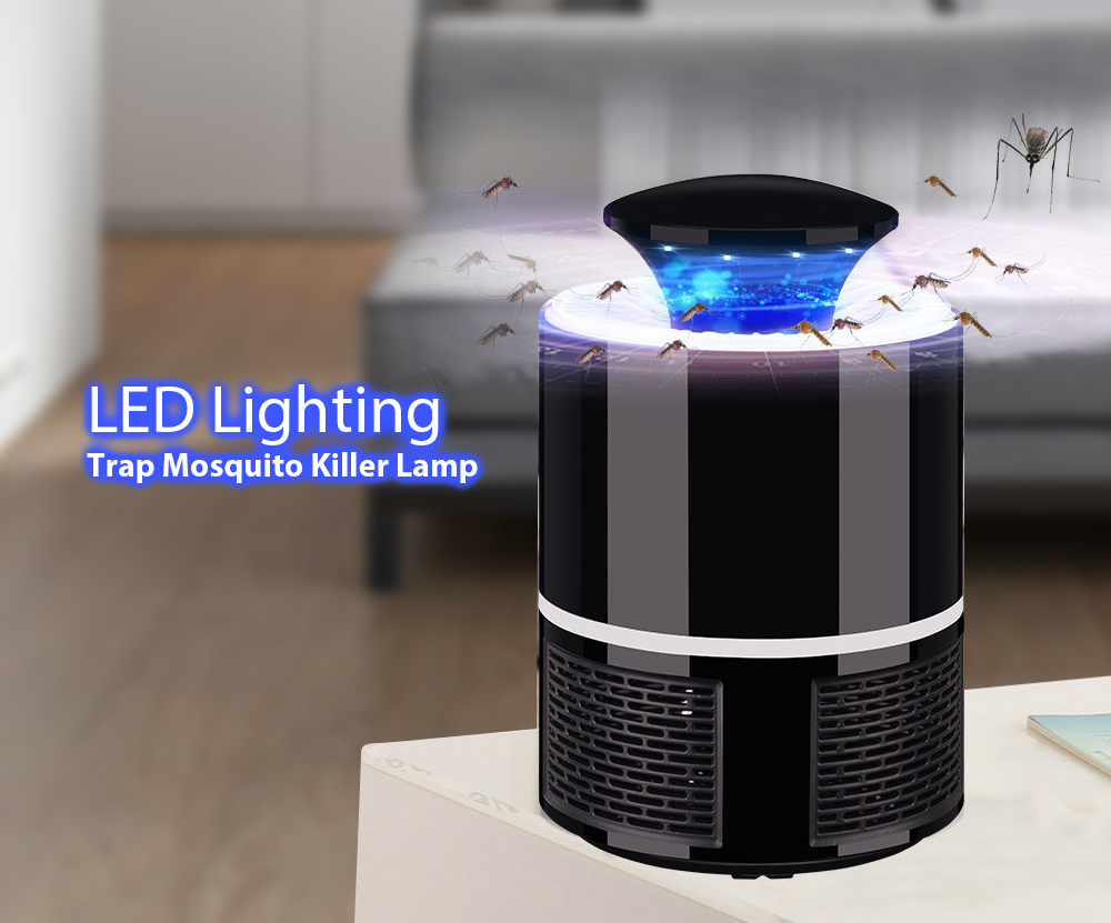 Home Bedroom USB Mosquito Killer Lamp Electric Pest Repeller Zapper Insect Traps