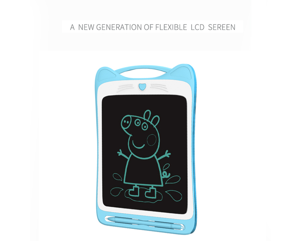 8.5 inch Children LCD Tablet Writing Board Electronic Graffiti Painting Blackboard Toy - Pink