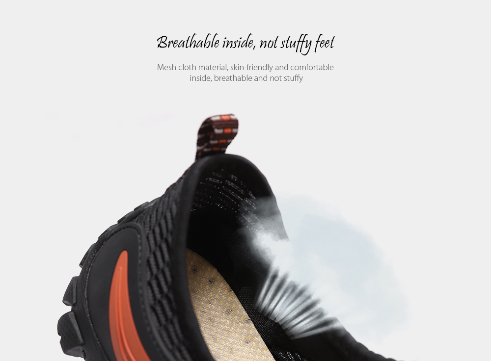 SENBAO Men Shoes Breathable inside, not stuffy feet