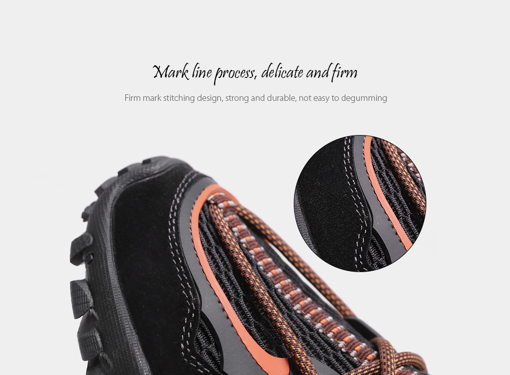 SENBAO Men Shoes Mark line process, delicate and firm