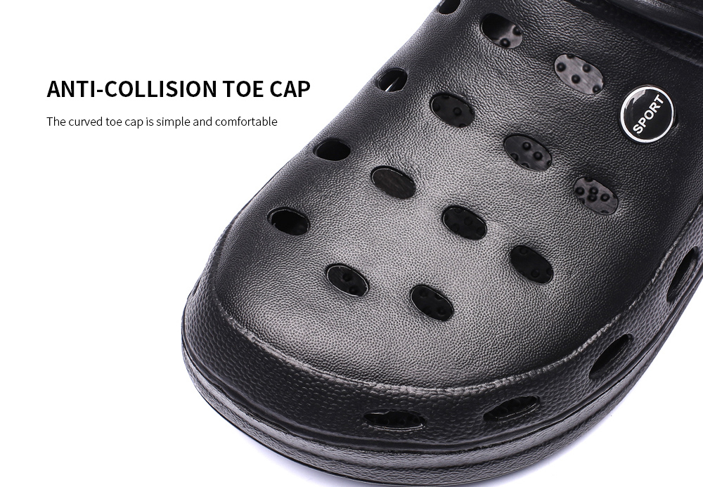 AILADUN Men Slipper Anti-collision toe cap