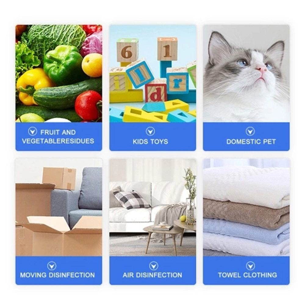 84 Disinfection Water Electrolytic Generator Household Sodium Hypochlorite Generator Automatic Disinfectant Liquid Making Machine Clean Air Spray - White