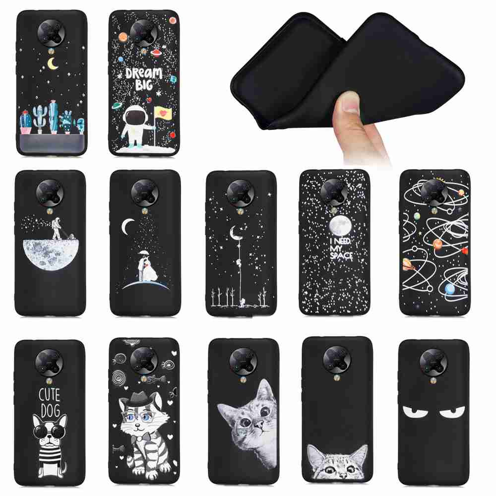 Painted TPU Phone Case for for Xiaomi Redmi K30 Pro / K30 Pro Zoom/Poco F2 Pro - Multi-G