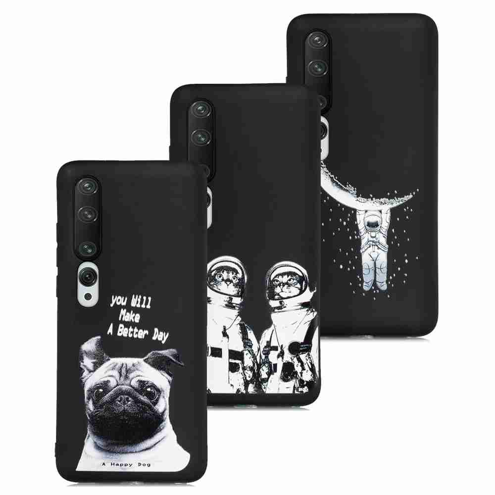 Painted TPU Phone Case for for Xiaomi 10 / 10 Pro - Multi-U