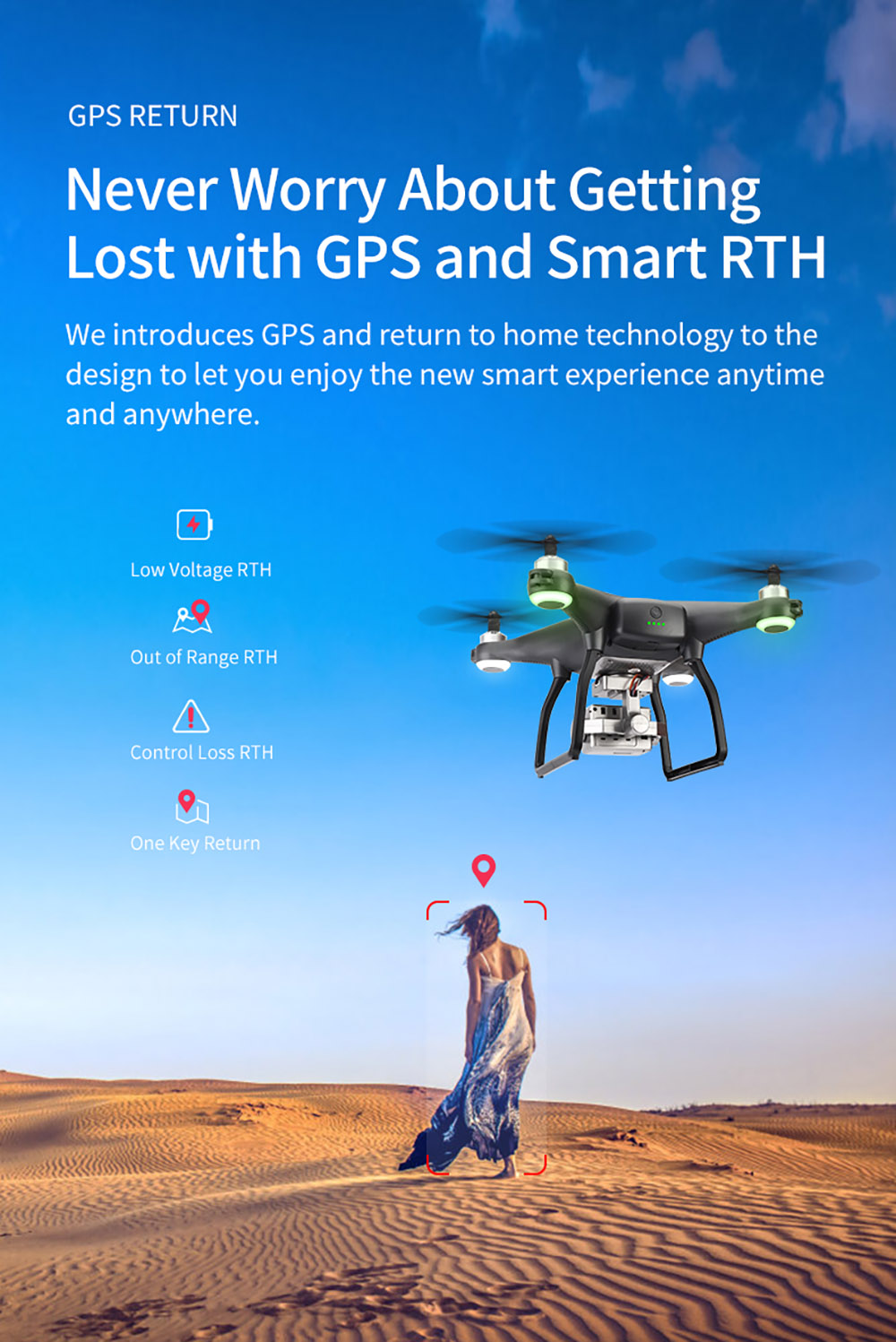 JJRC X13 5G GPS WiFi FPV RC Drone Dual Mode Positioning Brushless Motor Gimbal Stabilizer with 4K HD Camera Profissional RC Quadcopter - Black