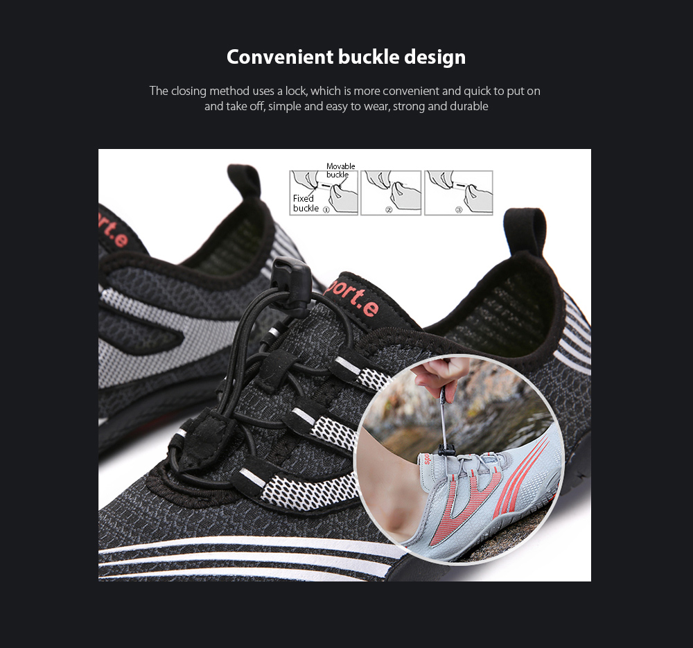 AILADUN Men Shoes Convenient buckle design