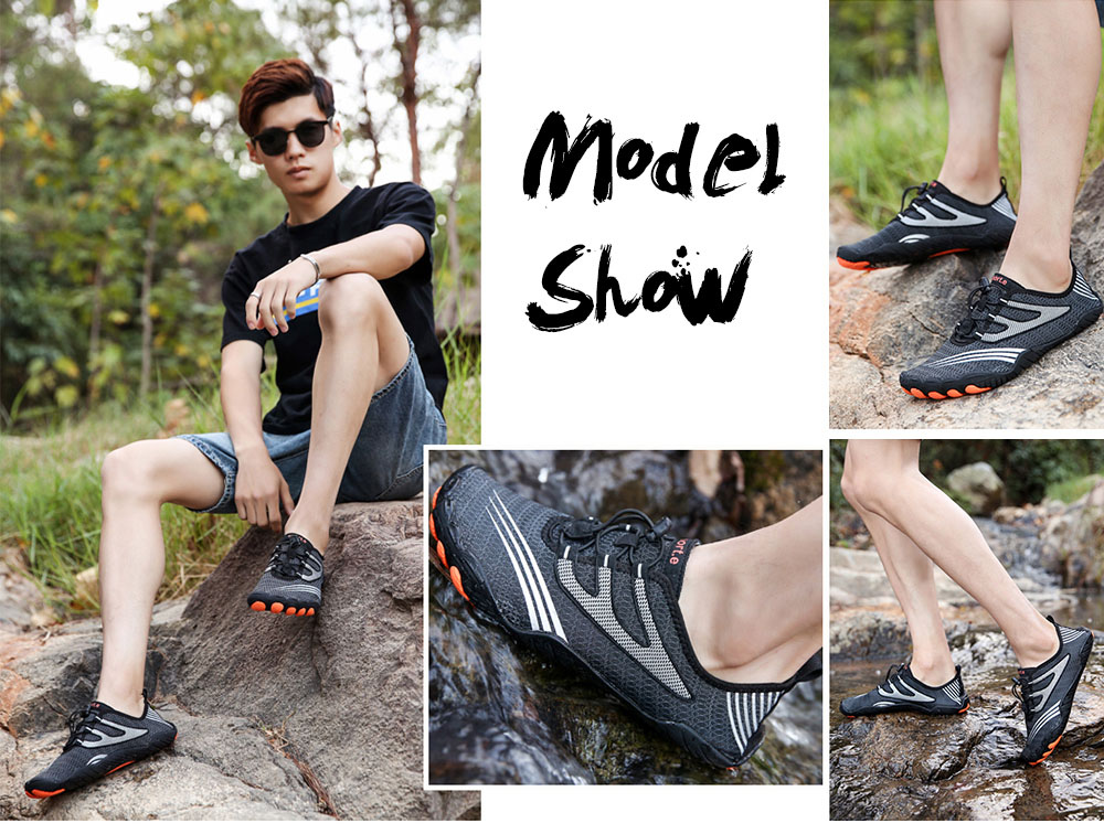 AILADUN Men Shoes model show