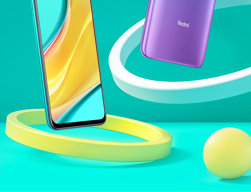 Xiaomi Redmi 9 4G Smartphone Media Tek Helio G80 UP TO Octa-core 6.53 inch Rear Camera 13MP + 8MP + 5MP + 2MP Battery 5020mAh Global Version - Green 3GB+32GB