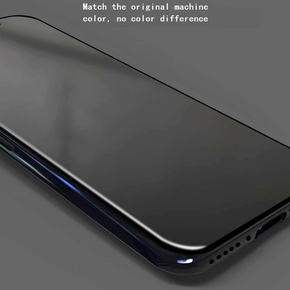 KINSTON 3D 9H Silk Nano Tempered Glass Screen Protector Film for iPhone 11 / XR - Black