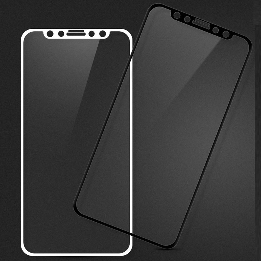 KINSTON 3D Silk Nano Tempered Glass Screen Protector Film for iPhone 11 Pro/XS/X - White