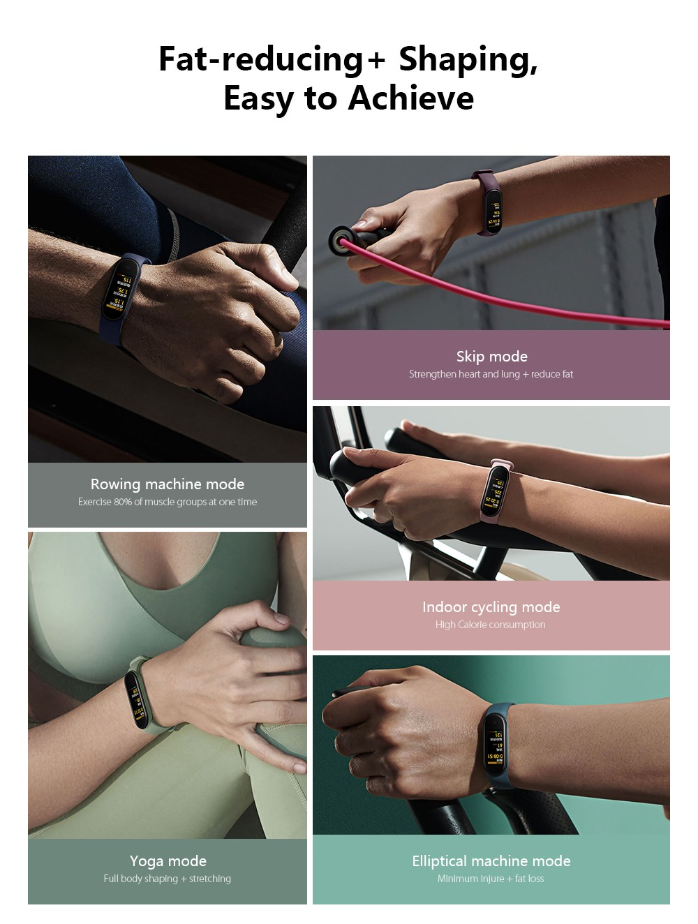 Xiaomi Mi Band 5 Global Version - Black Global Version