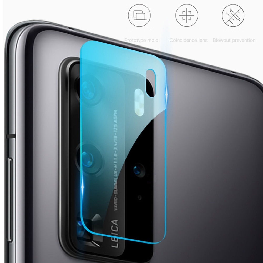 KINSTON 3D Camera Lens Tempered Glass Screen Protector Film for Huawei P40 Pro - Transparent