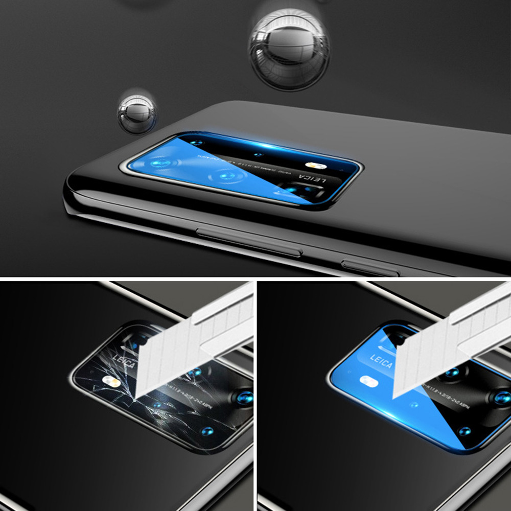 KINSTON 3D Nano Camera Lens Tempered Glass Screen Protector Film for Huawei P40 - Transparent