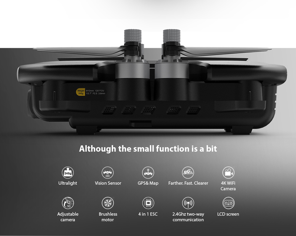 MJX B7 GPS 4K 5G WiFi Camera Foldable RC Quadcopter RTF features