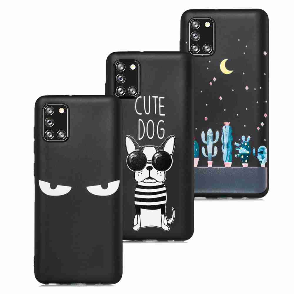 Frosted Painted TPU Phone Case for for Samsung Galaxy A31 - Multi-Q
