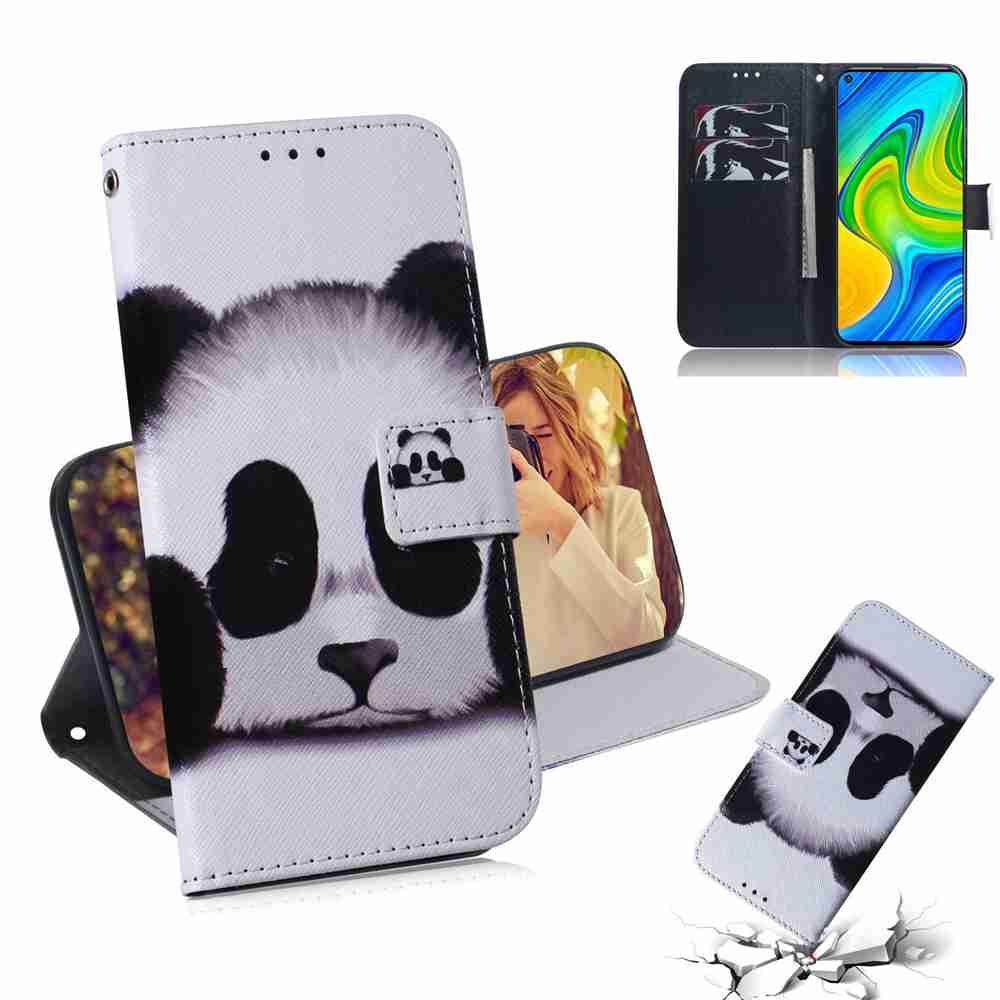 Painted Phone Case for Xiaomi Redmi Npte 9 / Redmi 10X 4G - Multi-I