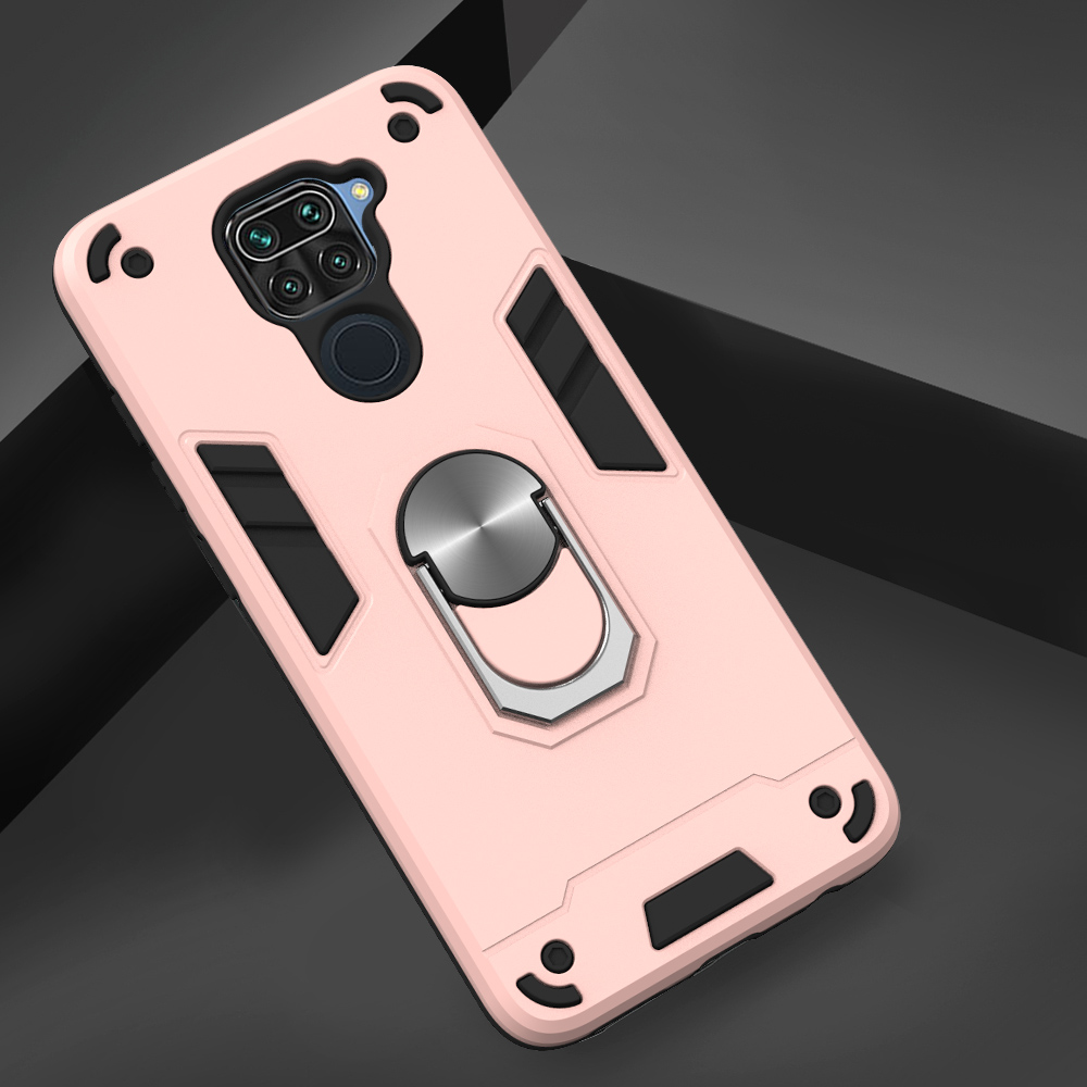 Two-In-One-Warframe Phone Case for Xiaomi Redmi Note 9 / Redmi 10X 4G - Rose Gold