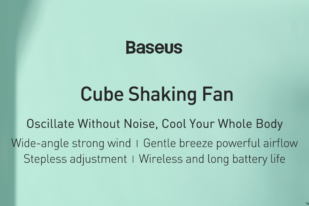 Baseus CXMF-02 Desktop Fan