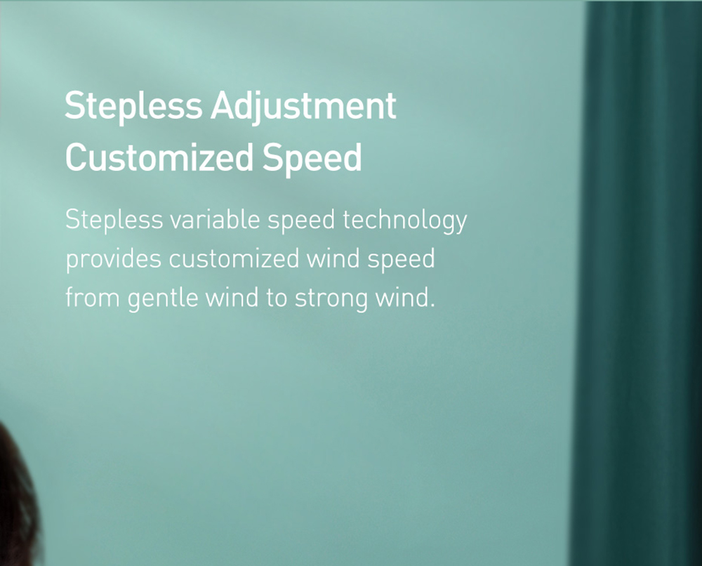 Baseus CXMF-02 Desktop Fan Stepless Adjustment Customized Speed