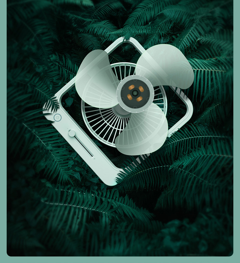 Baseus CXMF-02 Desktop Fan Large Vortex Fan Blades Bring Strong Breeze