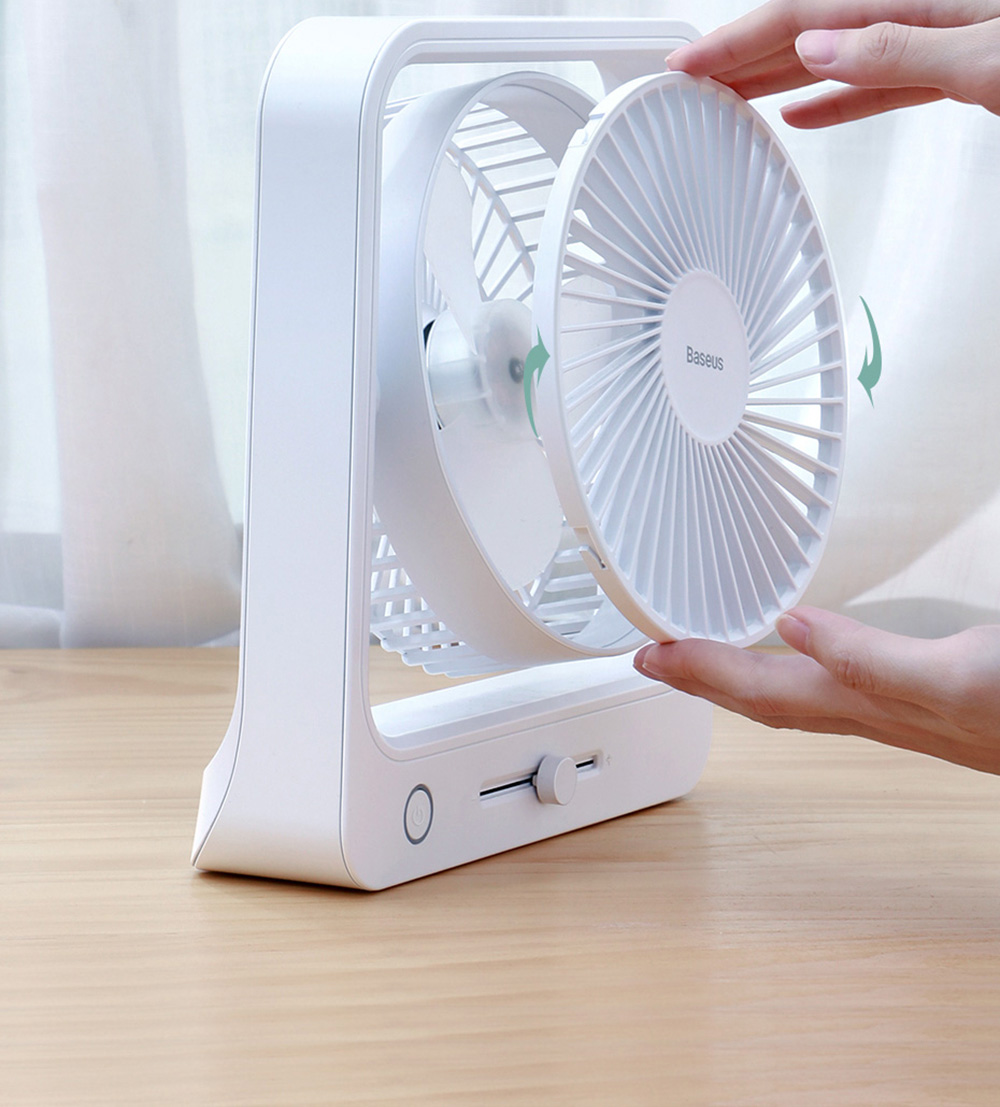 Baseus CXMF-02 Desktop Fan Integrated Design, Easy to Remove and Clean