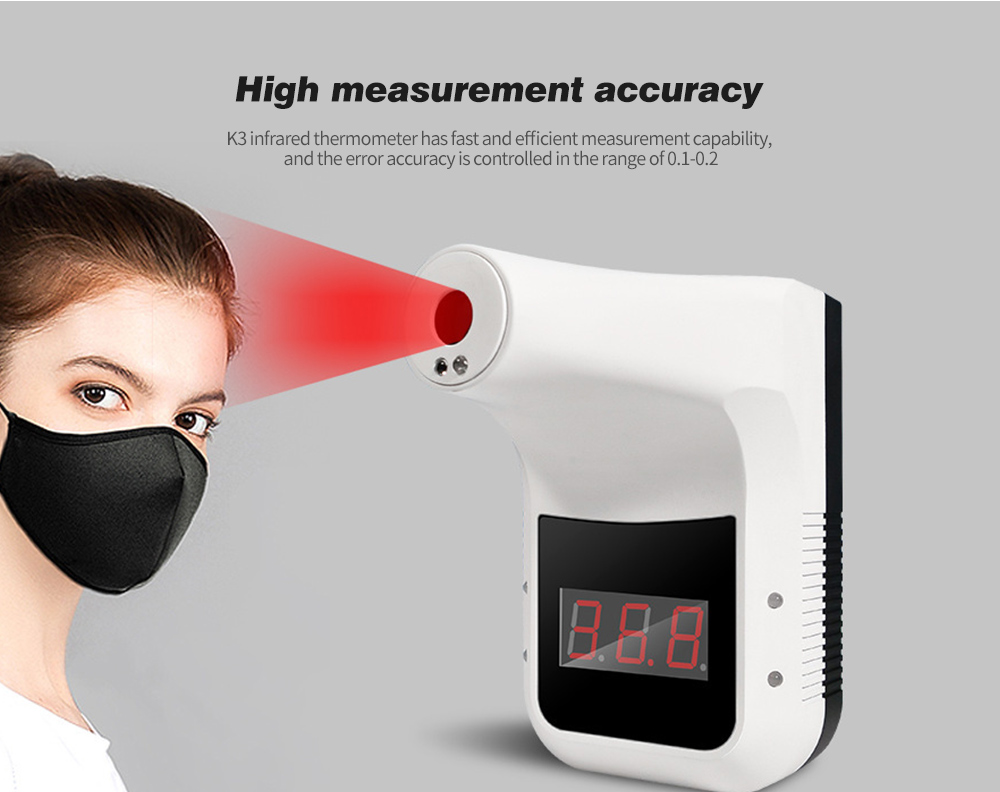 K3 Portable Non-contact Infrared Thermometer High measurement accuracy