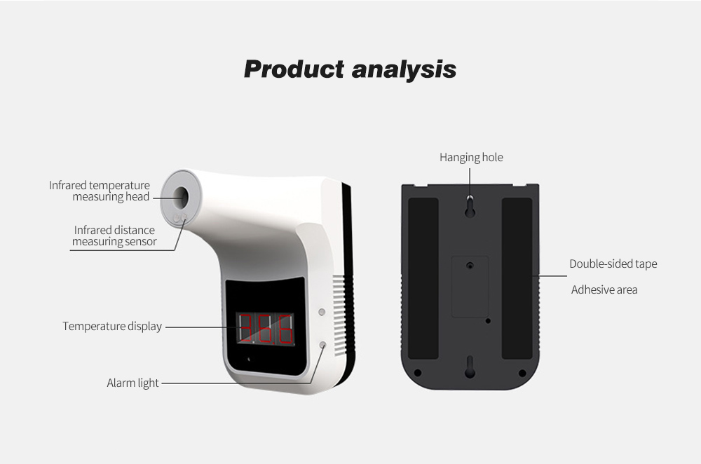 K3 Portable Non-contact Infrared Thermometer analysis