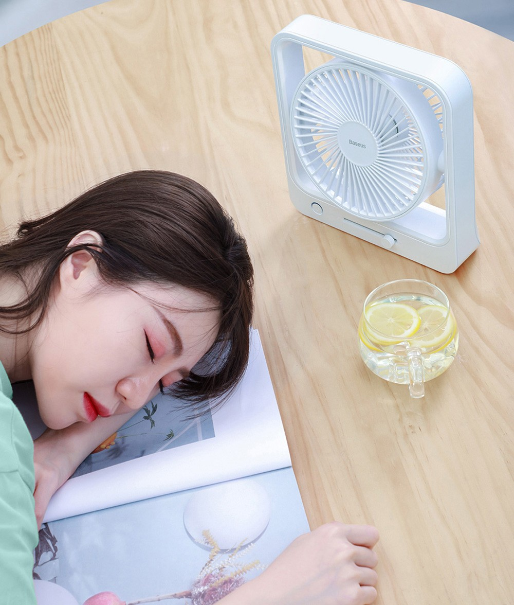 Baseus CXMF-02 Desktop Fan Silent Gentle Wind for a Sweet Dream