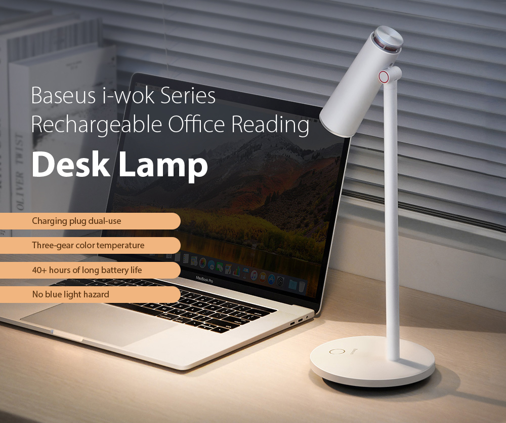 Baseus DGIWK-A02 i-wok Series Charge Office Reading Desk Lamp