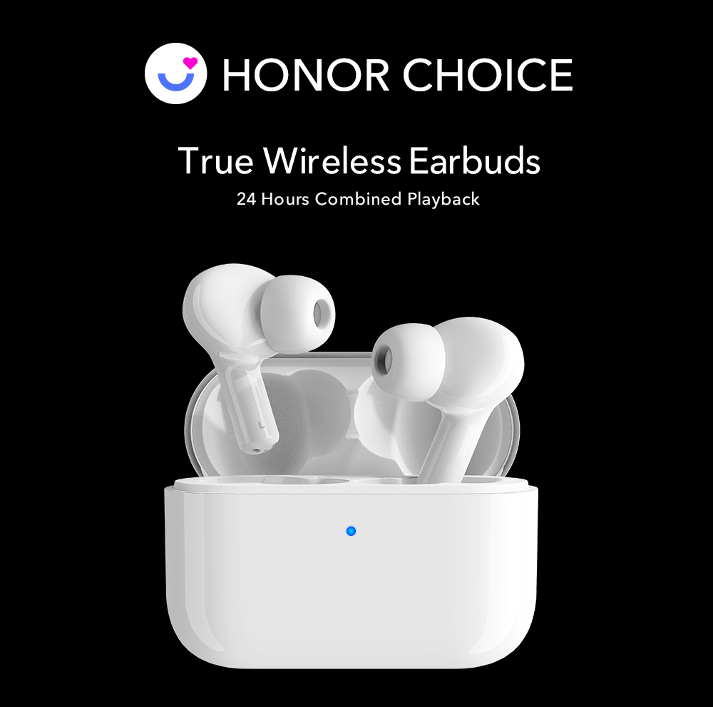 Huawei Honor Choice Earbuds X1 White Bluetooth Headphones Sale Price Reviews Gearbest
