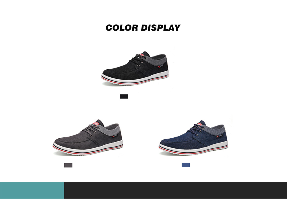 AILADUN Men Shoes color display